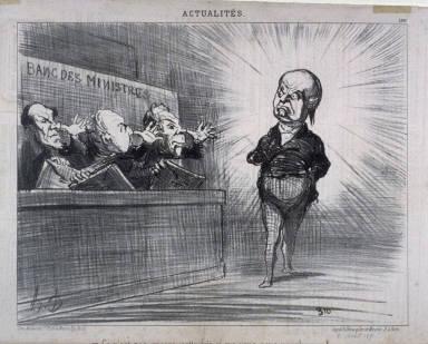 Ce n'est pas encore cette fois-ci que vous nous remplacerez!... no. 161 of the series Actualités published in Le Charivari 2 August 1851