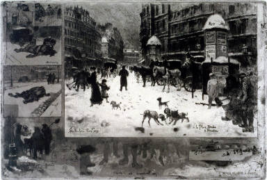 L'Hiver a Paris ou La Neige a Paris (Winter in Paris or Paris in the snow)