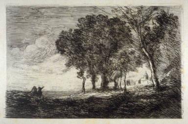 Paysage d'Italie (Italian Landscape)