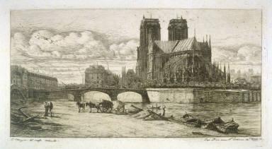 L'Abside de Notre Dame