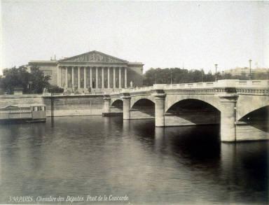 530, Paris, Chambres des Députés, Pont de la Concorde