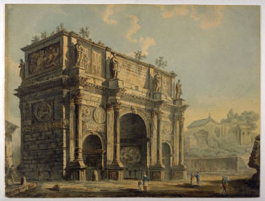 The Arch of Constantine at Rome