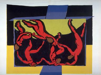 Recto:La DanseVerso: Untitled( floral motifs)