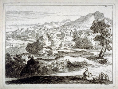 (Untitled) Pastoral Landscape