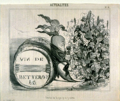 ?te-toi de là que je my mette.. no. 6 from the series ACTUALITÉS, published in Le Charivari 28 September 1839