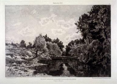 Un Petit Bras De La Marne A Isle-Les Villenoy