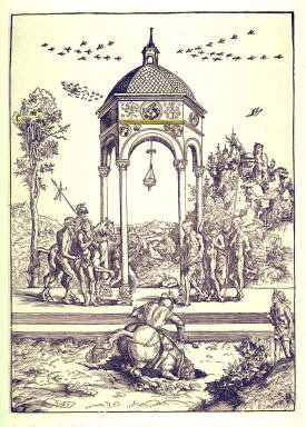 The Death of Marcus Curtius (Marcus Curtius Plunging into the Chasm)