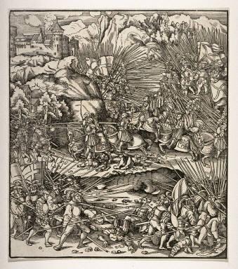 Battle at Dorneck in Switzerland