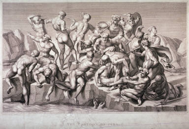 The Battle of Cascina (The Cartoon of Pisa), after Michelangelo
