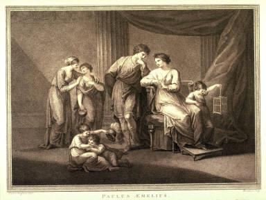 Paulus Aemilius in the Midst of His Family