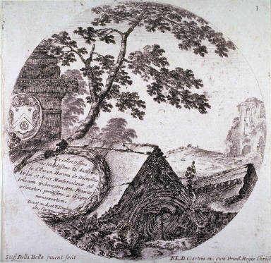 Dedication Page, from the series Landscapes and Ruins of Rome
