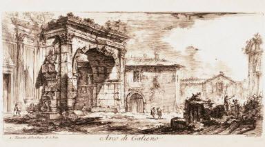 Arco di Galieno, from Antichità romane dei tempi della repubblica