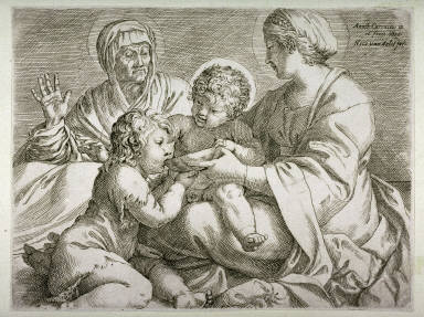Madonna and Child With SS. Elizabeth and John the Baptist