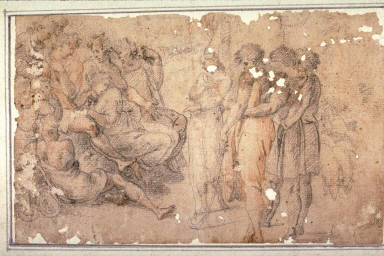 Joseph Telling His Dream, after the painting by Raphael in the Loggia of the Vatican