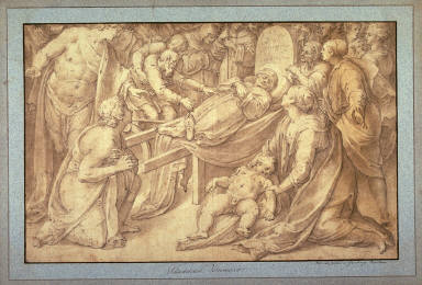 Burial Procession (Funeral) of St. Bernardino of Siena