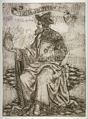 Elijah, from the series Prophets