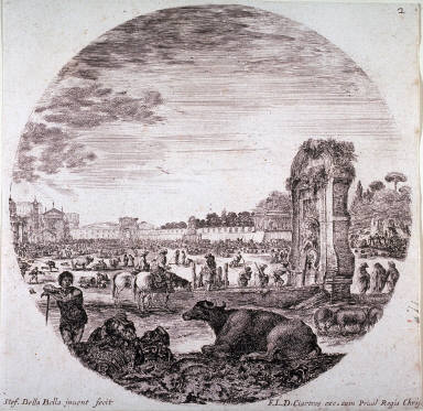 Campo Vaccino, from the series Landscapes and Ruins of Rome