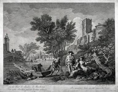 Fishermen, after Vernet