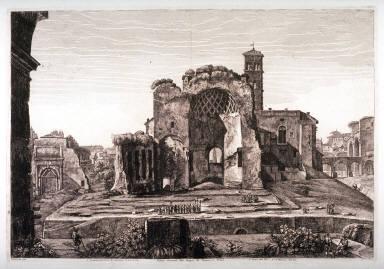 Veduta Generale del Tempio di Venere, e Roma (The Temple of Venus and Rome)