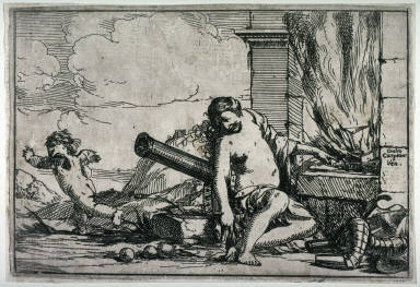 Fire (Venus at Vulcan's Forge) from the series, Allegories of Four Elements