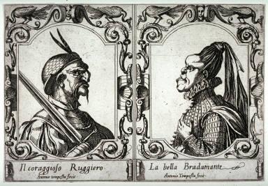 Il Coraggioso Ruggiero, La Bella Bradamante, from Ludovico Ariosto's Orlando Furioso