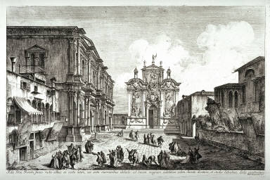 Campo San Rocco, plate 16 from the series Magnificentiores Selectioresque Urbis Venetiarum Prospectus
