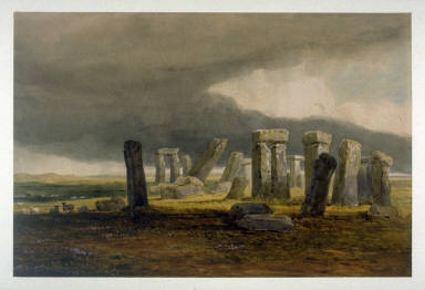 StonehengeA Storm Coming On