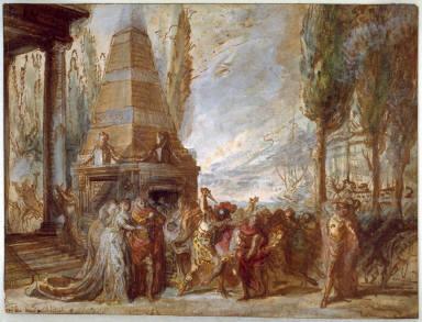 Theater Scene (Ernelinde, Princess of Norway)