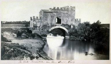 The Ponte Nomentano over the Anio (Aniene), Rome
