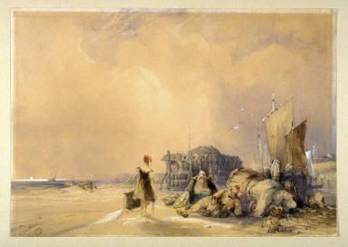 The Château Rouge at Calais