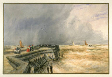 Grey Day, Calais Pier