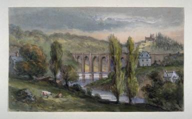 Bridge at Quimperlé, Brittany
