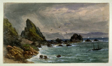 Coast of East Looe, South Cornwall