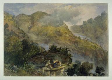 Himalaya Mountain Scene