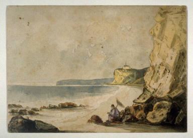 Sketch taken near St. Leonard, Martella Tower and Pevensey Peak in the distance
