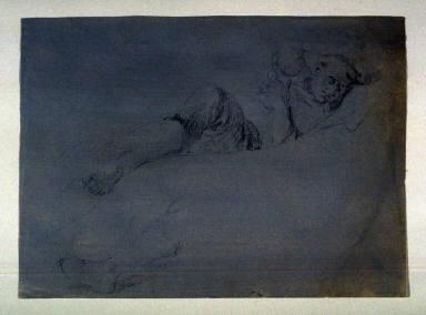 Studies of a man sleeping