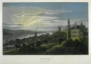 Der Maulethurm bei Bingen am Rhein