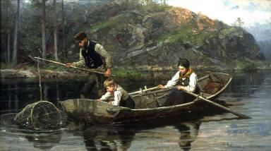 Peasants Fishing