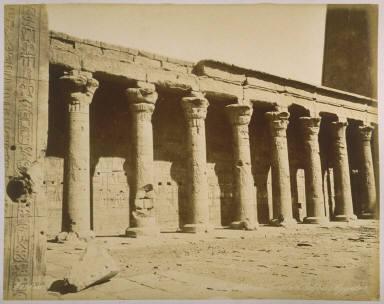 Perystiles du Temple d'Edfou (Egypte)