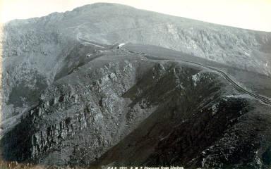 S. M. T. [Snowden Mt. Tramway] Clogwyn from Llechog