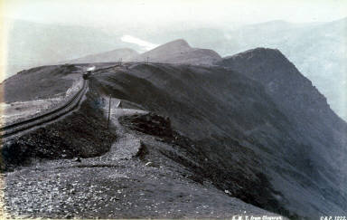 S. M. T. [Snowden Mt. Tramway] from Clogwyn