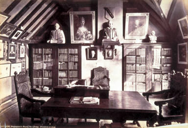 Shakespeare's House, The Library, Stratford-on-Avon