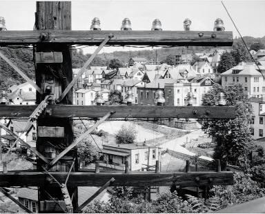 View of Morgantown, West Virginia, 1935
