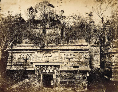Chichen-Itza: Main facade of the Nun's Palace