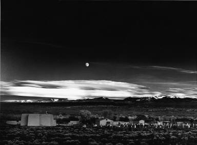 Moonrise, Hernandez, New Mexico 1941