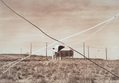 From the series Cancellations (Brown) - Flight Field