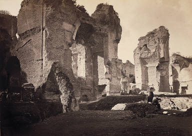 Ruins of the Thermae of Caracalla
