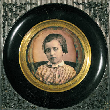 Portrait of a young girl (Sabatier's daughter ?)