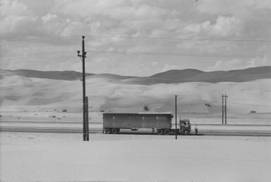 Truck in the Desert, Yuma, California