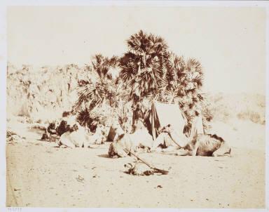 An Encampment in Ethiopia